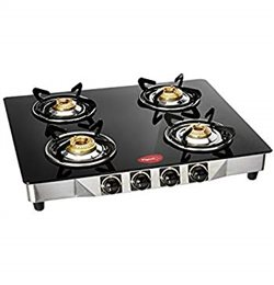 Pigeon Carbon Manual Gas Stove (2,3,4 Burners) Choose One Of Them